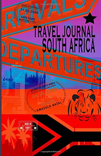 9781519713629: Travel journal South Africa.: Traveler's notebook. ( New collection OMJ )