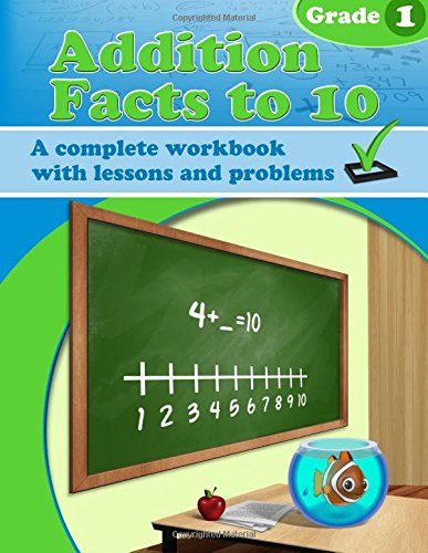 9781519713698: Addition Facts to 10