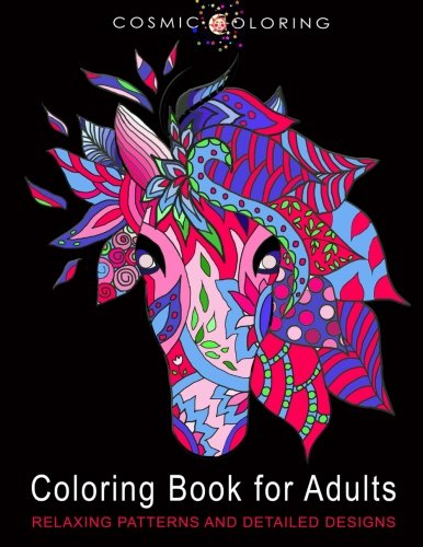 9781519725165: Coloring Book for Adults: Relaxing Patterns and Detailed Designs