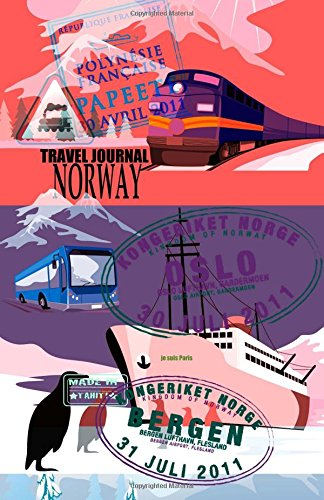 9781519725639: Travel journal Norway: Traveler's notebook. ( New collection OMJ )