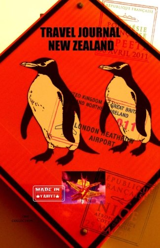 9781519726612: Travel journal New Zealand: Traveler's notebook. ( New collection OMJ )