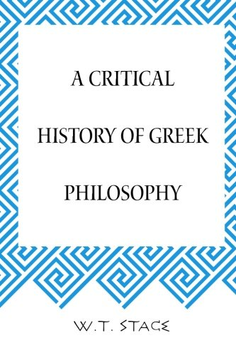 9781519730282: A Critical History of Greek Philosophy