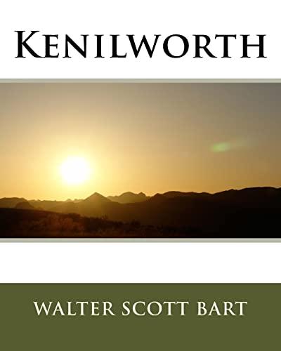 Kenilworth (Paperback): Sir Walter Scott