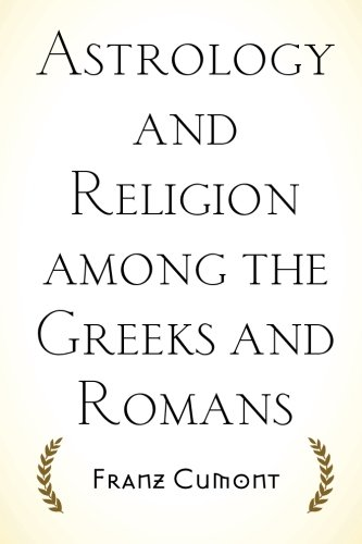 9781519741882: Astrology and Religion among the Greeks and Romans