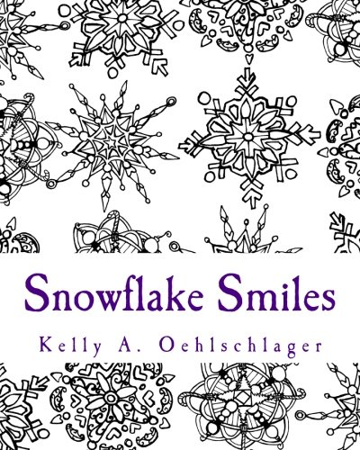 9781519751881: Snowflake Smiles: Coloring Book for All Ages