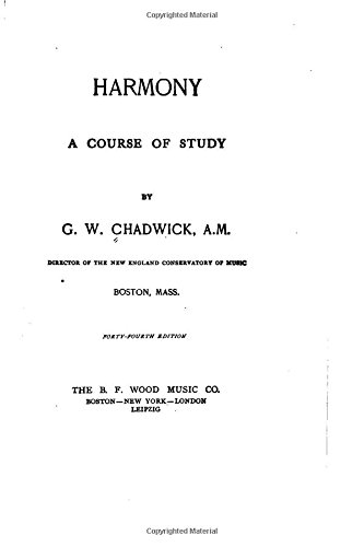 9781519754660: Harmony, A Course of Study
