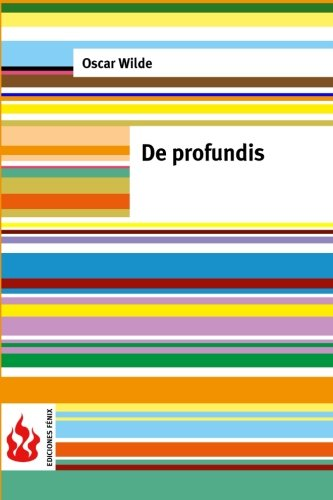 9781519756442: De profundis: (low cost). Limited edition