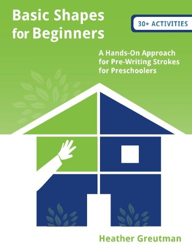 9781519762719: Basic Shapes for Beginners (B/W): A Hands-On Approach for Pre-Writing Strokes for Preschoolers
