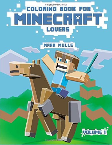 9781519767011: Coloring Book For Minecraft Lovers: (An Unofficial Minecraft Coloring Book): Volume 1