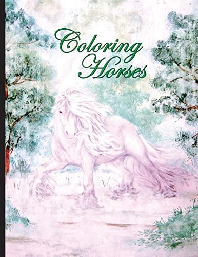 9781519768810: Coloring Horses