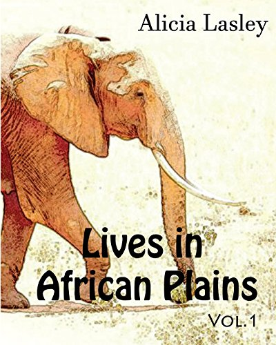 9781519770455: Lives in African Plains : Adult Coloring book Vol.1: African Wildlives Coloring Book (Animal Coloring Book Series) (Volume 1)