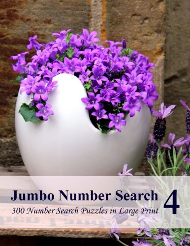 9781519770806: Jumbo Number Search 4: 300 Number Search Puzzles in Large Print