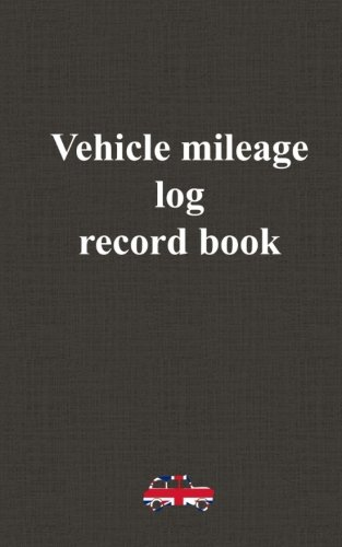 9781519781833 vehicle mileage log record book business mileage log