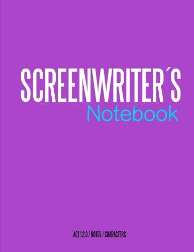 9781519784346: Screenwriters Notebook: Cinema notebooks for cinema artists