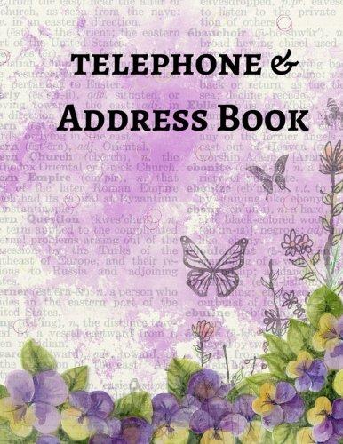 9781519797490: Telephone & Address Book (Large Print) (Volume 8)