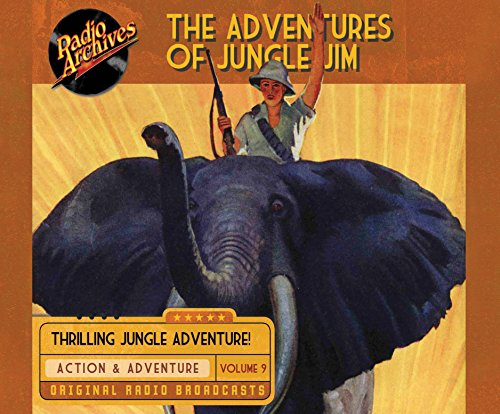 The Adventures of Jungle Jim, Volume 9 (Compact Disc): Gene Stafford