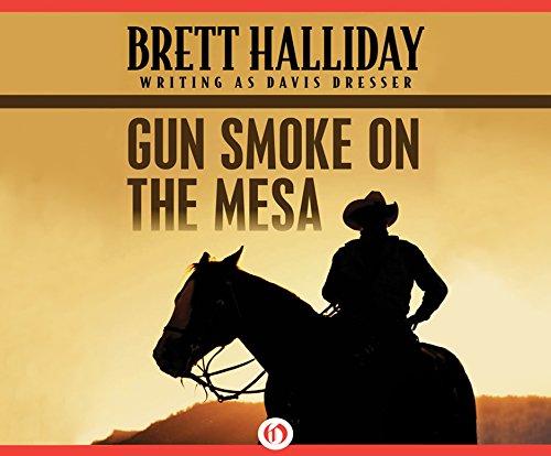 Gun Smoke on the Mesa (Compact Disc): Brett Halliday