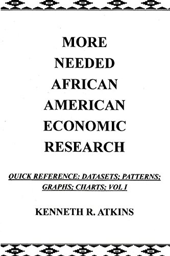 MORE NEEDED AFRICAN AMERICAN ECONOMIC RESEARCH: Quick: KENNETH R. ATKINS