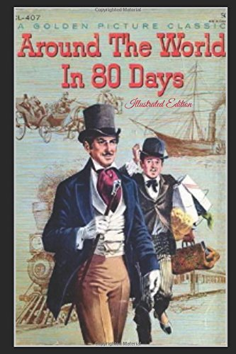 9781520680699: Around the World in Eighty Days - Illustrated Edition