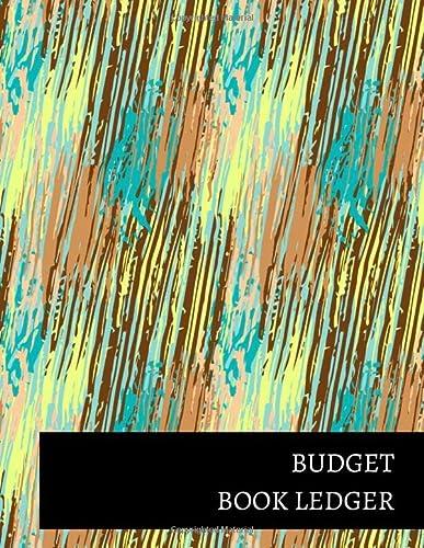 Budget Book Ledger: Journals For All