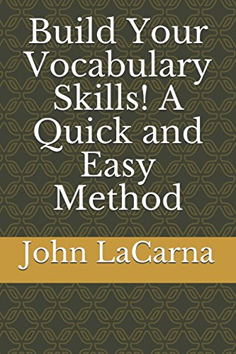 9781520903453: Build Your Vocabulary Skills! A Quick and Easy Method
