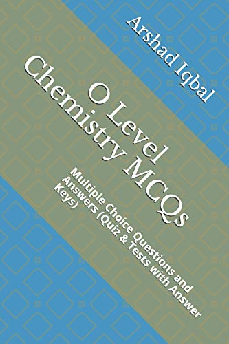 9781521110768: O Level Chemistry MCQs: Multiple Choice
