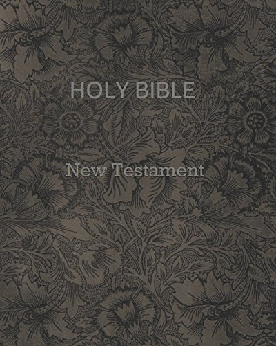 9781521136683: Holy bible New Testament (King James Version)