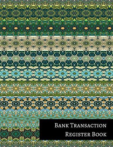 Bank Transaction Register Book: Insignia Accounts