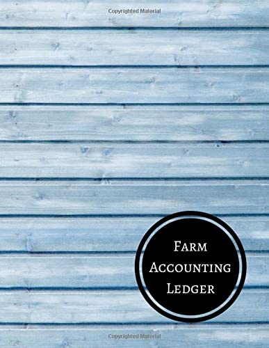 Farm Accounting Ledger: Farm Record Log: Journals For All