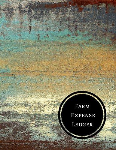 Farm Expense Ledger: Farm Record Log: Journals For All