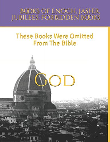 Books of Enoch, Jasher, Jubilees: Forbidden Books: These Books Were Omitted From The Bible 9781521813539 These three books were omitted from the Bible. These are great books to teach in your Sunday school classes. They're also great collecto