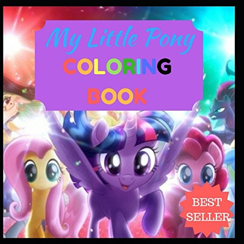 My Little Pony: Easy to colour My Little Pony drawings, adorable drawings for kids