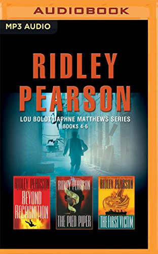 Ridley Pearson - Lou Boldt/Daphne Matthews Series: Books 4-6: Beyond Recognition, The Pied Piper, ...