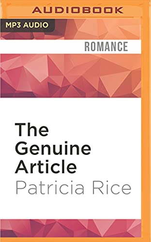 The Genuine Article (Regency Nobles): Patricia Rice