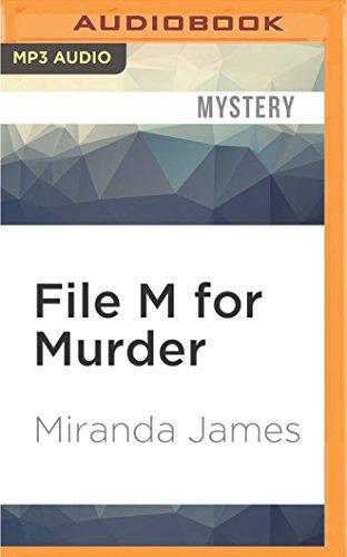 File M for Murder (Cat In the Stacks Mysteries): Miranda James