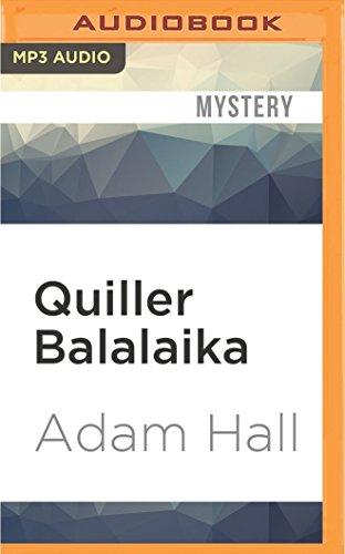 Quiller Balalaika (CD-Audio): Adam Hall