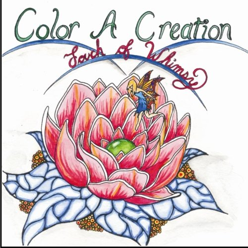 9781522716402: Color A Creation: Touch of Whimsy