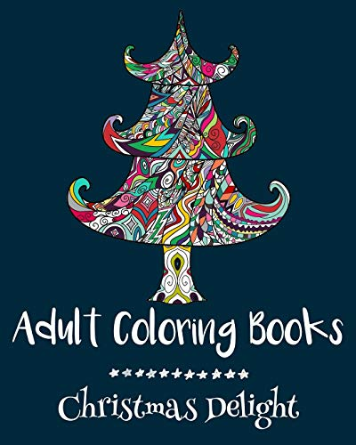 9781522718871: Adult Coloring Books: Christmas Delight