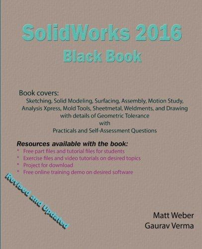 9781522739777: SolidWorks 2016 Black Book
