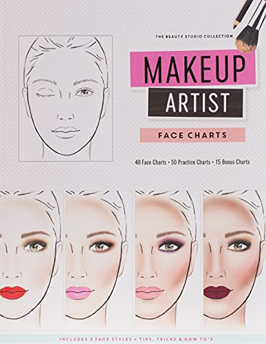 9781522744504: Makeup Artist Face Charts (The Beauty Studio Collection)