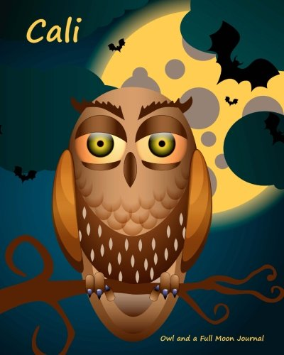 9781522767053: Owl and a Full Moon Journal - Cali