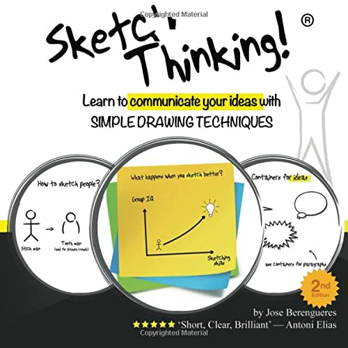 9781522774549: Sketch Thinking: Learn to communicate your ideas with simple drawing techniques