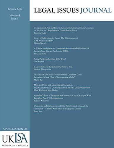 9781522795582: Legal Issues Journal 4(1) (Volume 4)