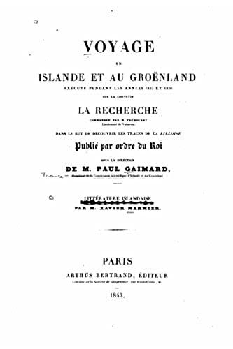 9781522798163: Voyage en Islande et au Groenland (French Edition)