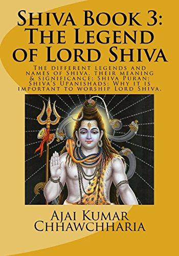Shiva Book 3: The Legend of Lord: Sri Ajai Kumar