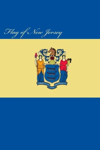9781522817383: Flag of New Jersey: Journal; 160 Lined / ruled pages, 6x9 inch (15.24 x 22.86 cm) Laminated.