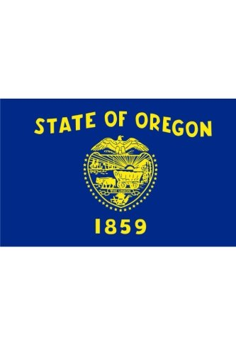 9781522825036: Flag of Oregon: Journal; 160 Lined / ruled pages, 6x9 inch (15.24 x 22.86 cm) Laminated.