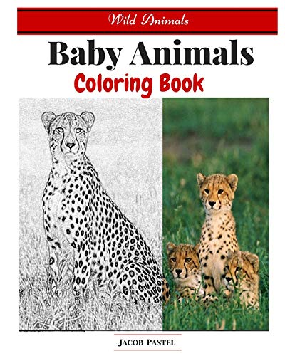 9781522836421: Baby Animals Coloring Book: Wild Animals Coloring Book ( Dover Coloring Books Animals )