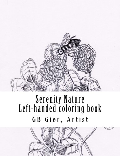 9781522841210: Serenity Nature: Left handed coloring book