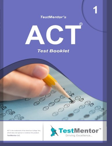 9781522866459: Test-Mentor's ACT Test Booklet-1: Test-Mentor's ACT Test Booklet-1 (Volume 1)